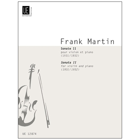 Martin, F.: Violinsonate Nr. 2