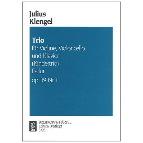 Klengel, J.: Kindertrio F-Dur Op.39 Nr.1