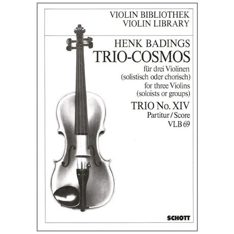 Badings, H.H.: Trio-Cosmos Nr.14