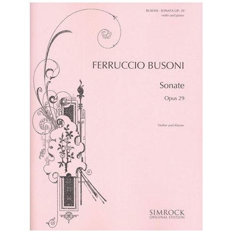 Busoni, F.: Sonate e-Moll Op.29