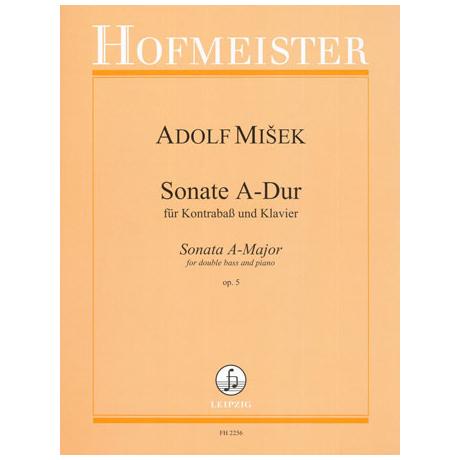 Misek, A.: Kontrabsssonate Op. 5 A-Dur