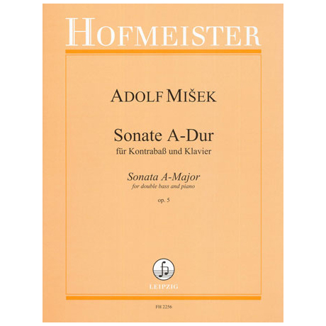 Misek, A.: Sonate A-Dur Op.5