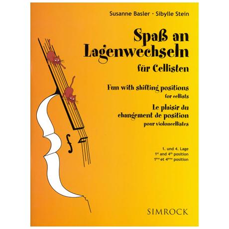 Basler: Spaß an Lagenwechseln für Cellisten Band 1