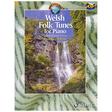 Turner, B.C.: Welsh Folk Tunes (+CD)