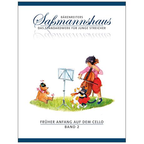 Sassmannshaus: Früher Anfang auf dem Cello Band 2