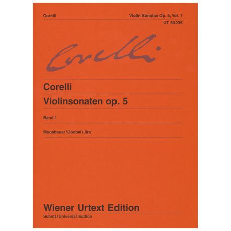 Corelli, A.: Violinsonaten op. 5 Band 1