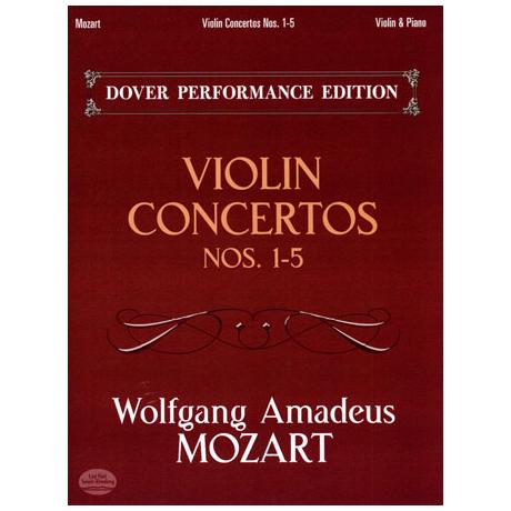 Mozart, W.A.: Violin Concertos Nr.1-5
