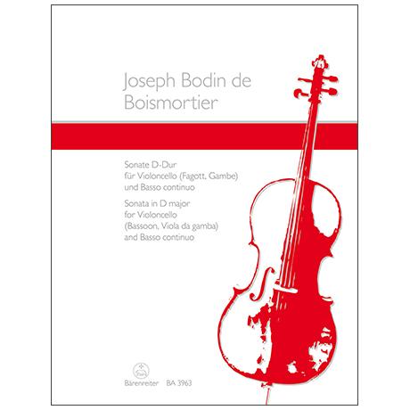 Boismortier, J. B.: Sonate D-Dur Op.50 Nr.3