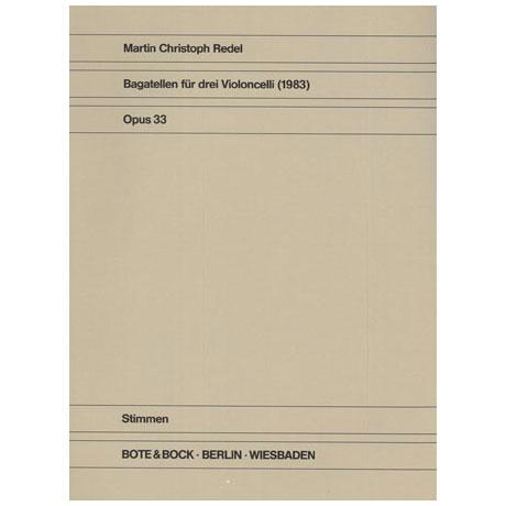 Redel, M. C.: Bagatellen Op. 33