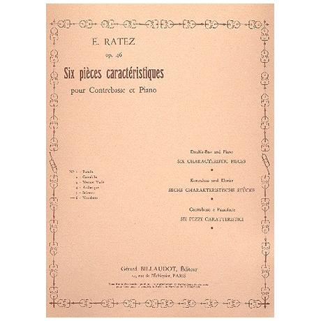 Ratez, E.: 6 Pièces Caractéristiques Op.46 Nr.6 Novolette
