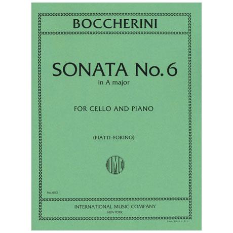 Boccherini, L.: Sonate Nr. 6 in A-Dur