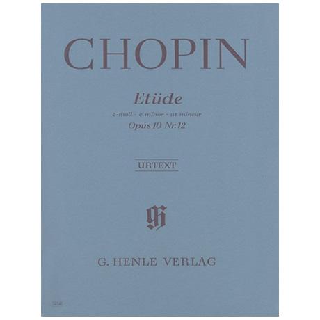 Chopin, F.: Etüde c-Moll Op. 10,12 (Revolution)