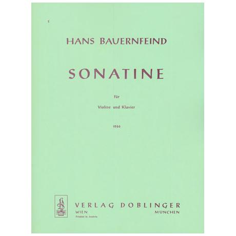 Bauernfeind, H.: Sonatine