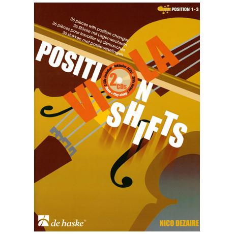 Dezaire, N.: Viola Position Shifts (+2 CD's)