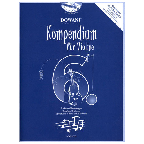 Kompendium für Violine - Band 6 (+CD)