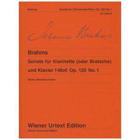 Brahms, J.: Sonate f-Moll, op. 120/1