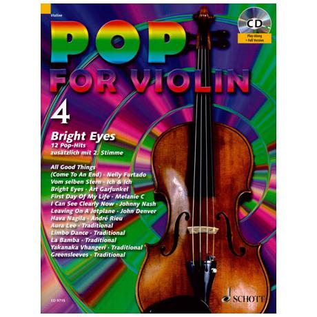Pop for Violin Vol.4 (+CD)