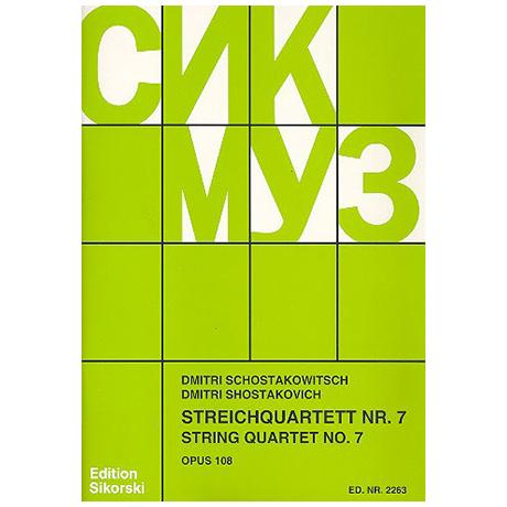Schostakowitsch, D.: Streichquartett Nr. 7 Op. 108 fis-Moll (1960)