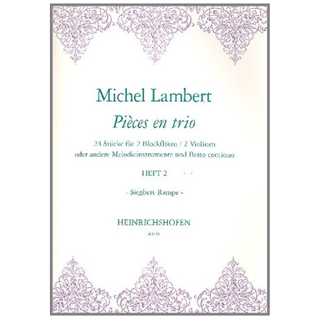 Lambert, M.: Pièces en trio Band 2