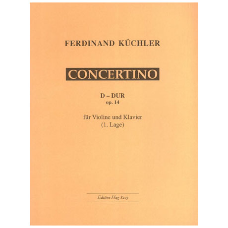 Küchler: Concertino D-Dur op. 14