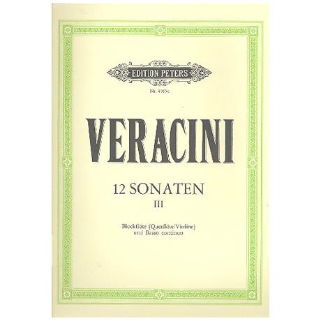 Veracini: 12 Sonaten Band 3