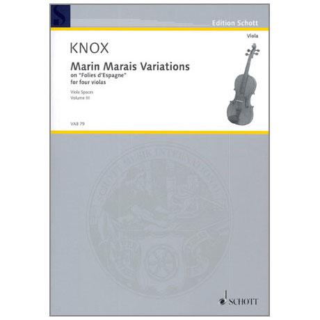 Knox, G.: Marin Marais Variations