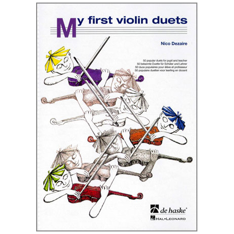 Dezaire, N.: My first Violin Duets