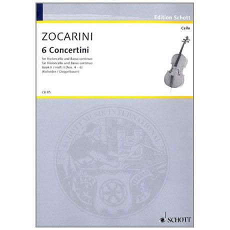 Zocarini, M.: 6 Concertini Band 2 (4-6)