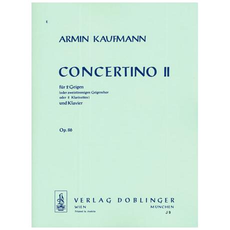 Kaufmann, A.: Concertino 2 Op.86