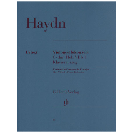 Haydn, J.: Konzert C-Dur Hob: VIIb:1 Urtext