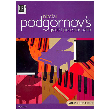 Podgornov, N.: Graded Pieces for Piano Band 2