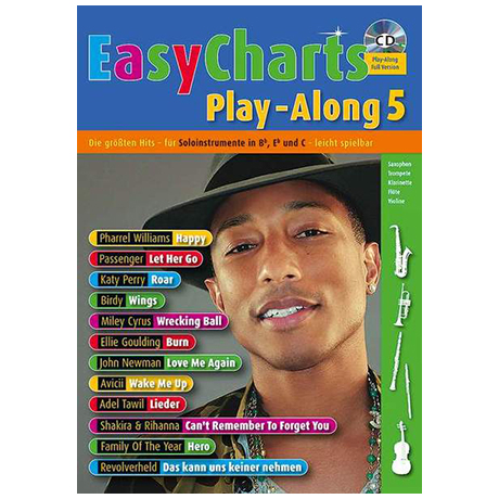 Easy Charts Playalong Band 5 (+CD)
