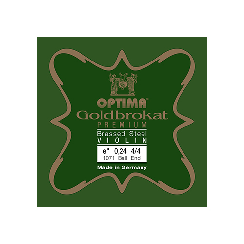 OPTIMA Goldbrokat Premium Brassed Violinsaite E