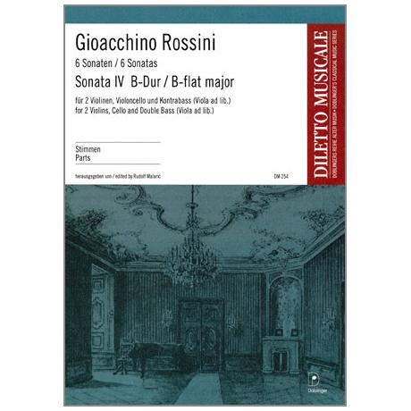 Rossini, G. A.: Violasonate Nr. 4 B-Dur