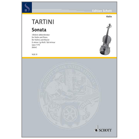 Tartini, G.: Sonate Op. 1/10 g-Moll »Didone abbandonata«