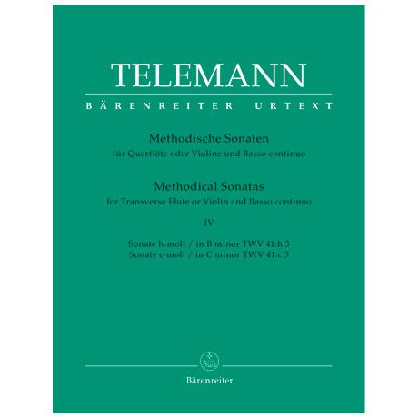 Telemann, G. Ph.: Methodische Sonaten - Band 4