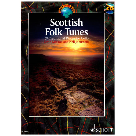 Scottish Folk Tunes (+CD): 69 Trad. Pieces for Cello