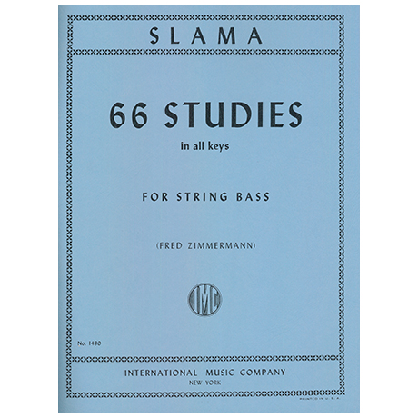 Slama, Anton: 66 Studies in All Keys