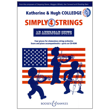 Simply4Strings - An American Suite (+CD-ROM)