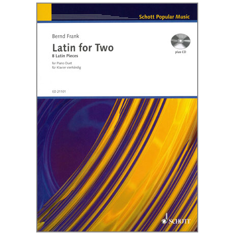 Frank, B.: Latin for two (+CD)