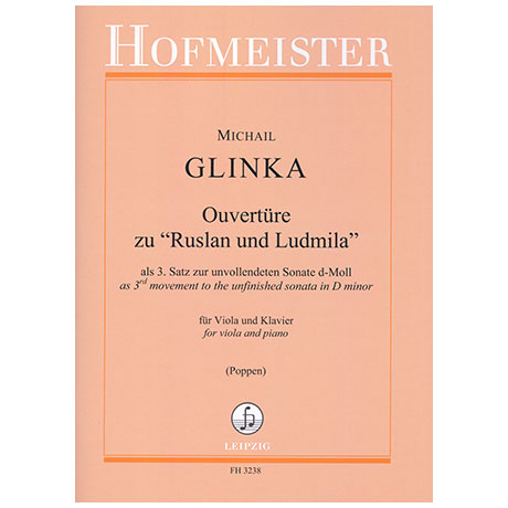 Glinka, M.: Ouvertüre zu »Ruslan und Ludmila«