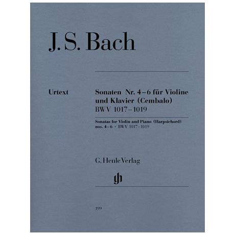 Bach, J.S.: Sonaten Nr.4 - 6 BWV 1017-1019