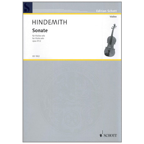 Hindemith, P.: Sonate Op.31 Nr.2