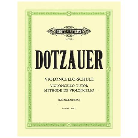 Dotzauer: Violoncelloschule Band 1