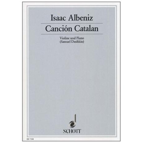 Albéniz, I.: Cancion Catalan