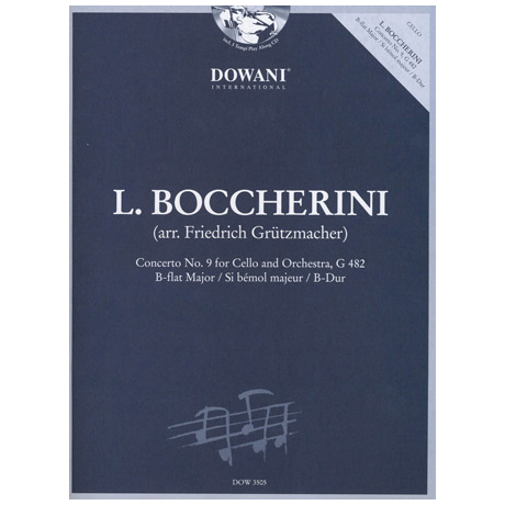 Boccherini: Concerto No. 9 G 482 in B-Dur (+2 CD's)