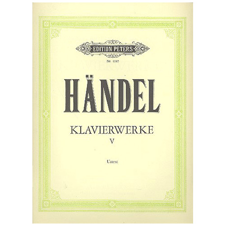 Händel, G. F.: Suite, Sonatina, diverse Stücke