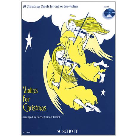Violins for Christmas (+CD)