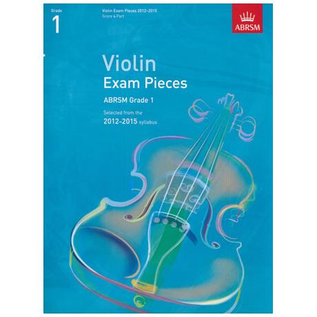 ABRSM: Selected Violin Exam Pieces Grade 1 (2012-2015)
