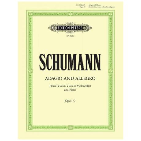 Schumann, R.: Adagio und Allegro Op. 70